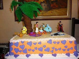 Tortas de Aladino para Fiestas Infantiles, parte 3