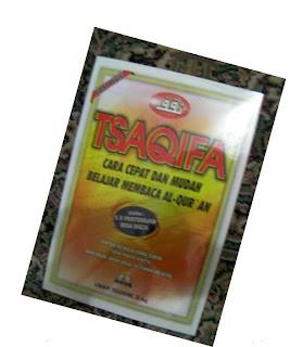 TSAQIFA, CARA MUDAH BISA BACA  AL-QUR'AN