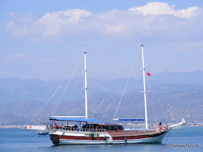 Turkish gulet Fethiye Turkey