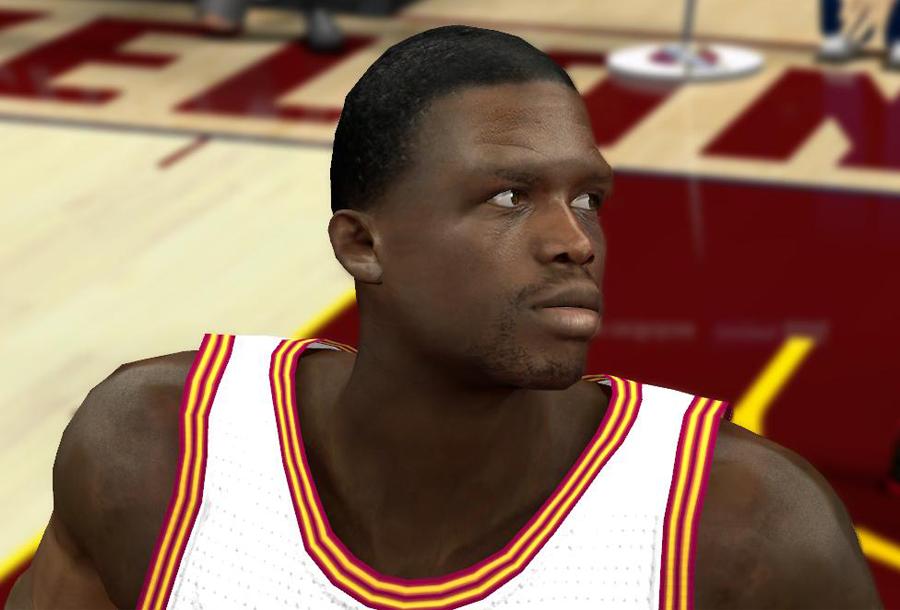 Luol Deng Cyberface Mod NBA 2K14