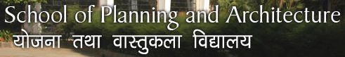School of Planning and Architecture (SPA) Logo