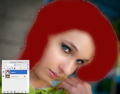 How to Change Hair Colour In Photoshop