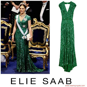 Crown Princess Style - ELIE SAAB Dress - 2012