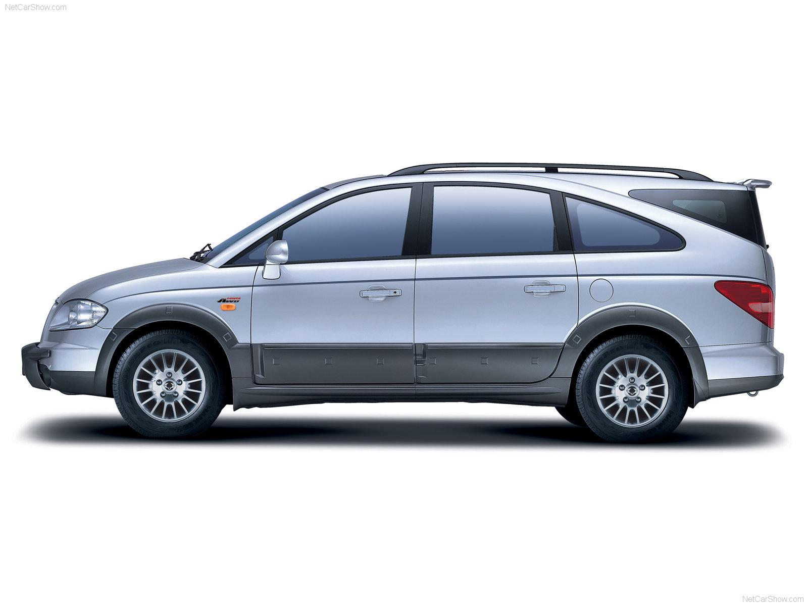 Hình ảnh xe ô tô SsangYong Rodius 2004 & nội ngoại thất