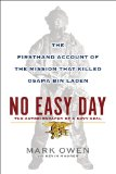 No Easy Day by Mark Owen book cover
