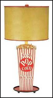 Movie Snack Table Lamp