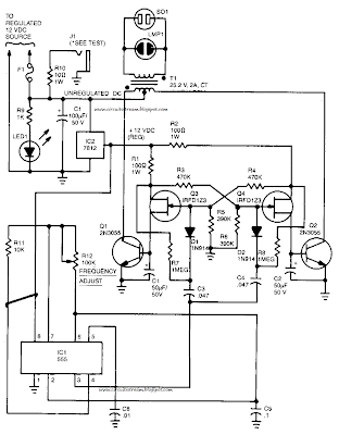 60Hz Power Inverter Circuit Diagram