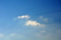Wolkenschatten...
