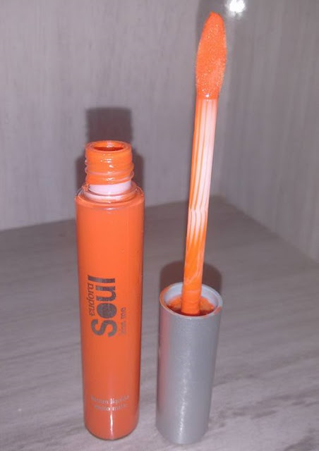 batom laranja Shock Eduora