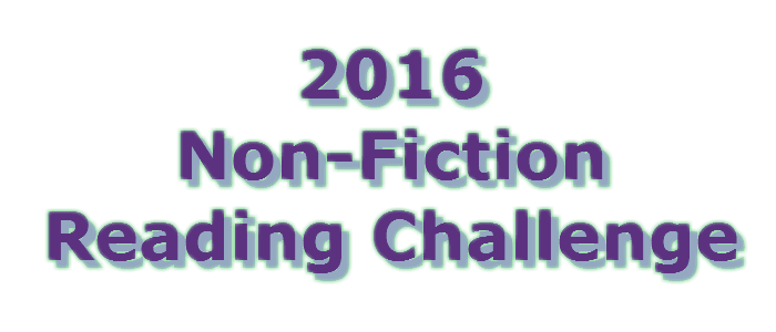 2016 Non-Fiction Reading Challenge