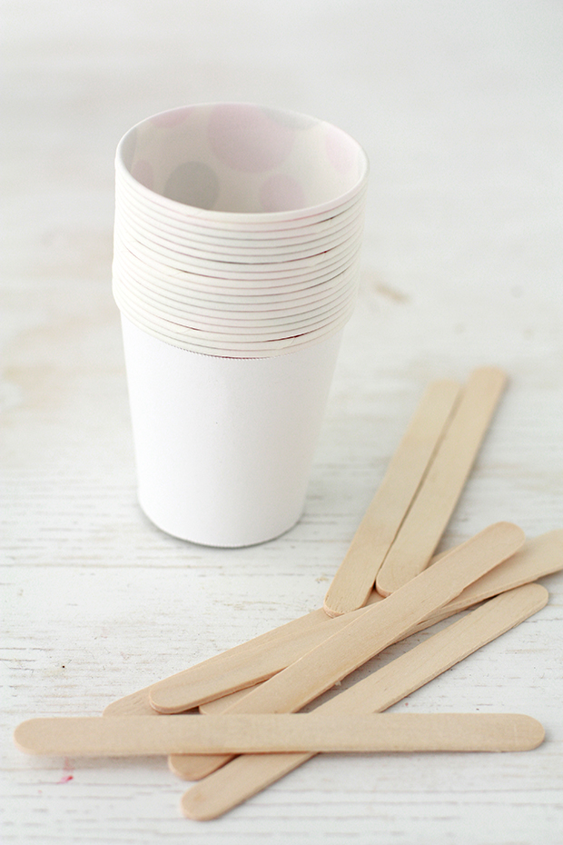 Dixie cups as popsicle molds | kitchen heals soul