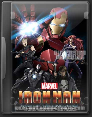 Iron Man Rise Technovore (DVDRip Español Latino) (2013)