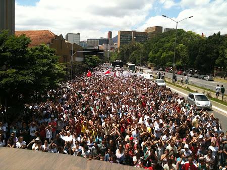Marcha para Jesus me Belo Horizonte  08/10/2011