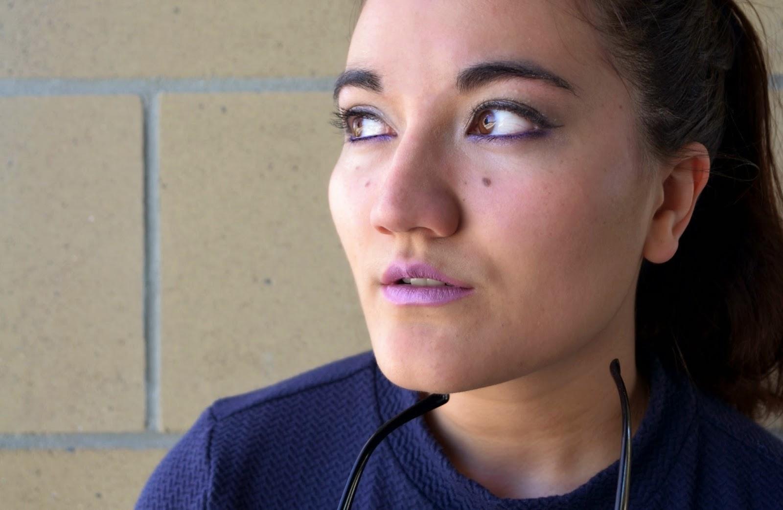 NYX Power lipstick swatch
