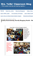 Mrs. Yollis' Class Blog