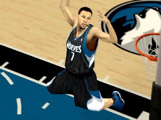 NBA 2K13 Minnesota Timberwolves Black Alternate Jersey Mods