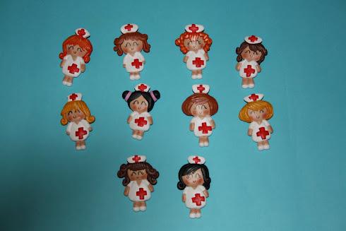 broche enfermeras