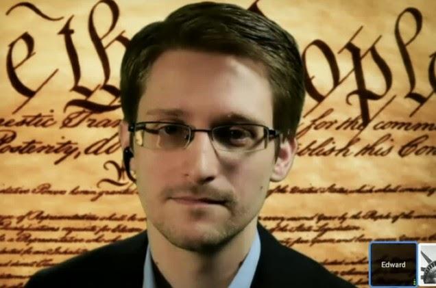 Snowden habla de sofre cifrado de datos, la privacidad en Internet y la NSA en el festival South by Southwest.