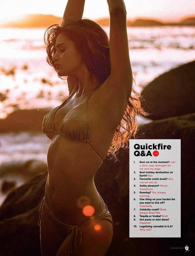 Gabriella Demetriades HQ Pictures Maxim South Africa Magazine Photoshoot March 2014
