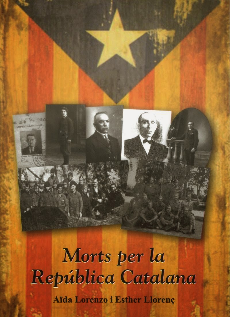 Aïda Lorenzo i Esther Llorenç publiquen 'Morts per la República Catalana'