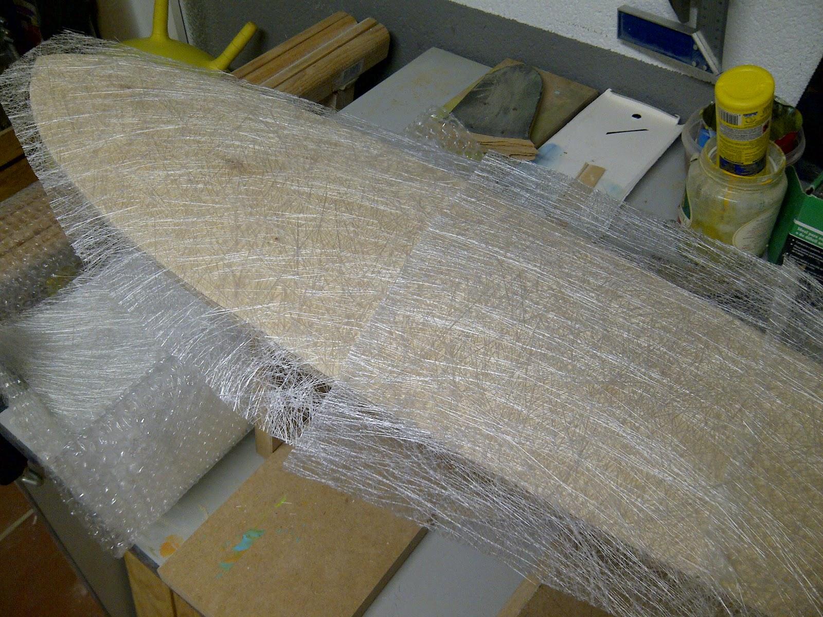 C mo acabar este viaje como no glasear un longboard for Estanque fibra de vidrio