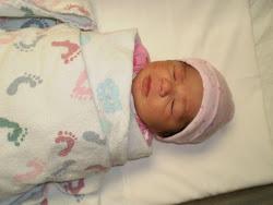 The birth of Scarlett Tina
