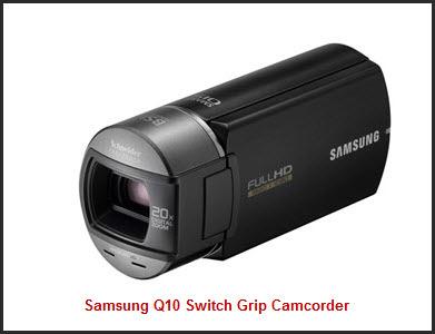 Samsung Q10 SwitchGrip Camcorder