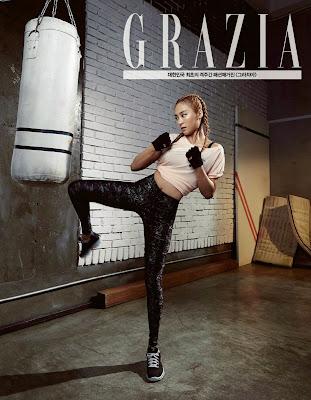 Bora SISTAR - Grazia Magazine April Issue 2015