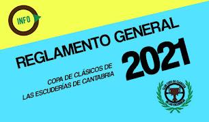¡NOVEDAD! Reglamento general 2021