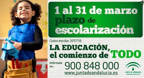 Portal de Escolarización 2017-18