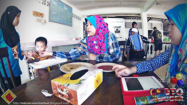 Sarapan @ Kafeteria Anjung Dful