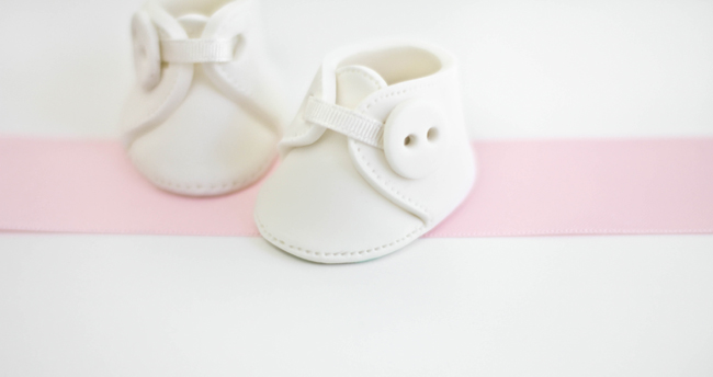 Cake Decorating Baby Booties Template : Baby Booties Template Fondant