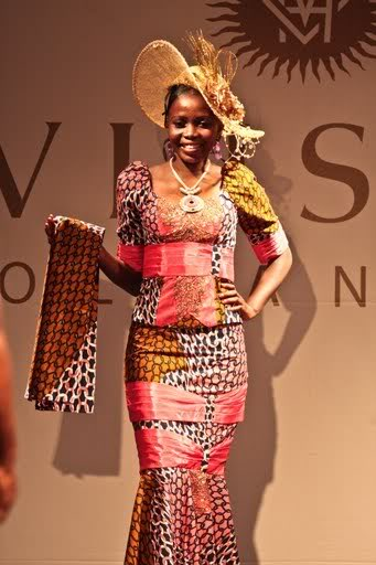 Model Pagne Congolaise