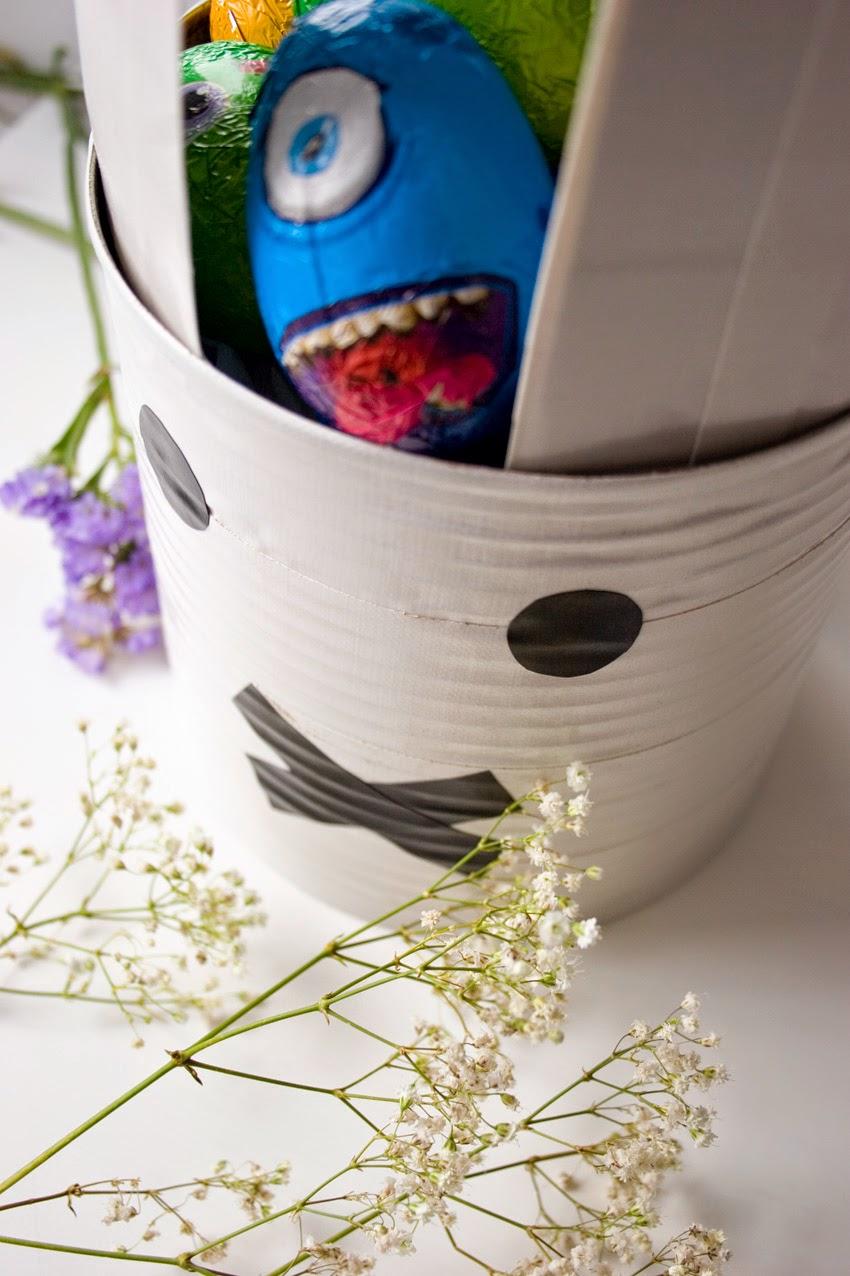 Taller de creactividad: Diy conejo para lo huevos de Pascua en una lata9