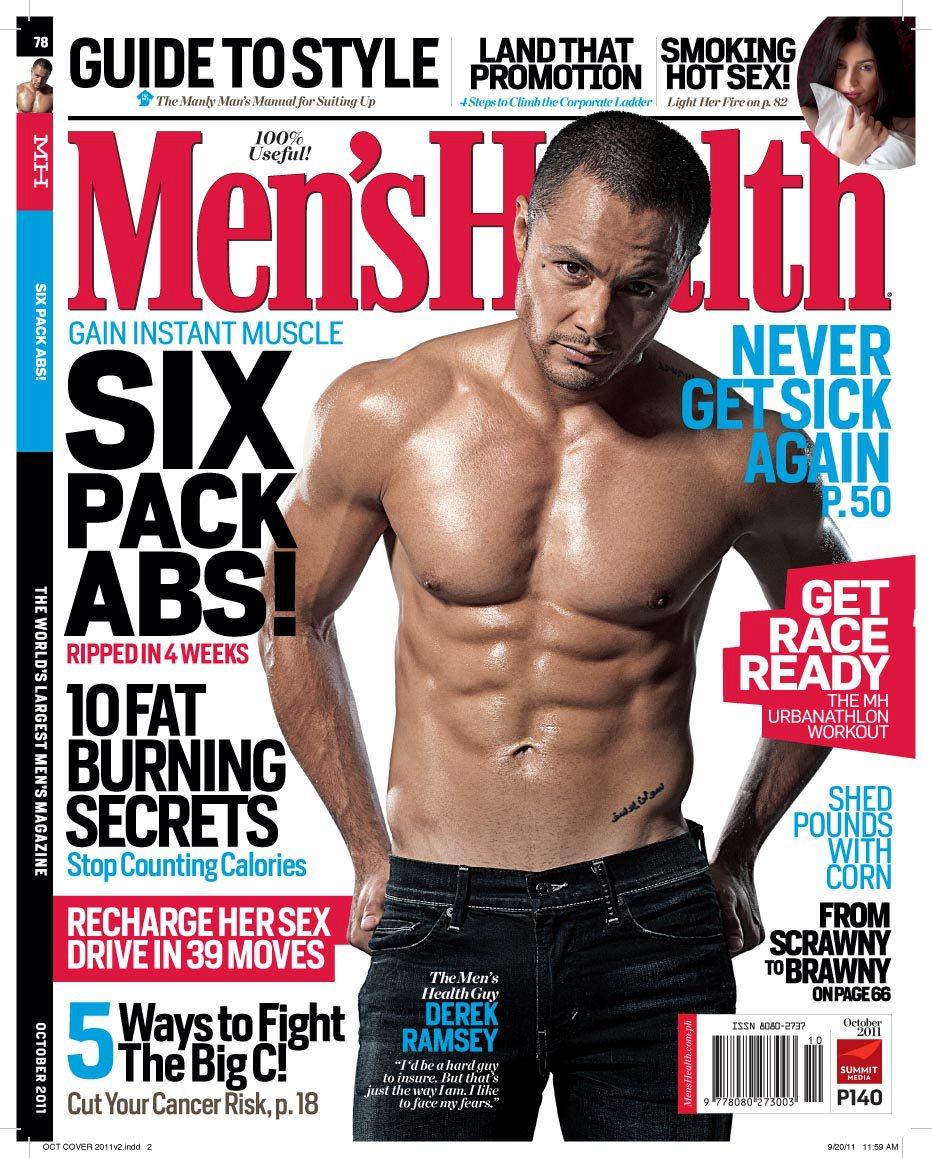 Men S Health: DEMIGODS: Derek Ramsay For Men's Health PH