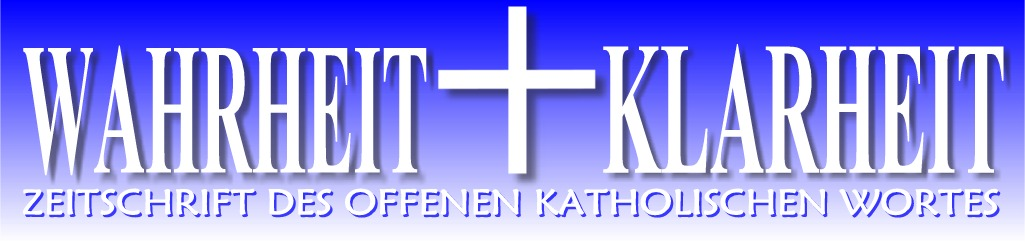 WAHRHEIT + KLARHEIT