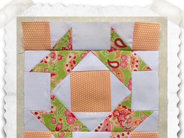 Chatelaine- Free BOW Sampler Quilt Block 40