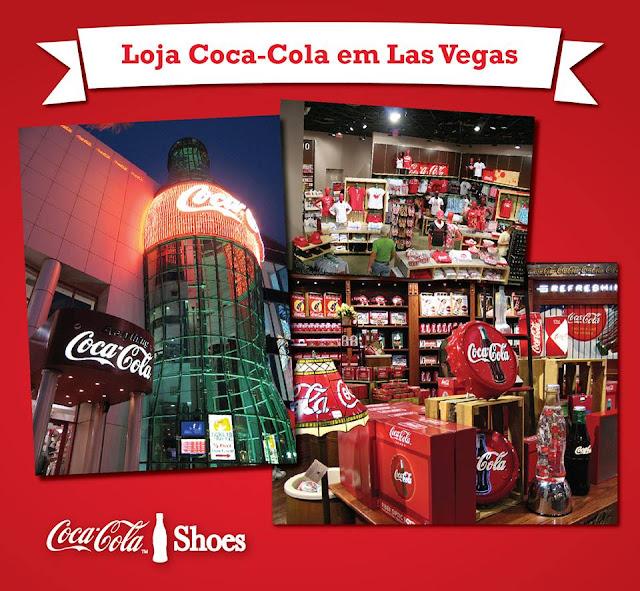 loja coca-cola em Las Vegas