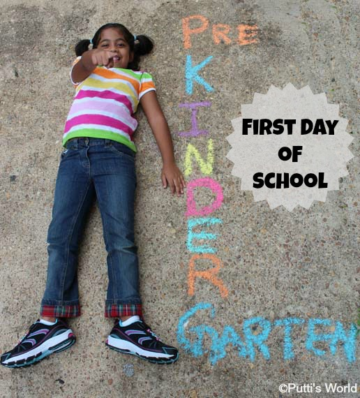 first day of school photo shoot ideas - First Day of School s Putti s World kids activities