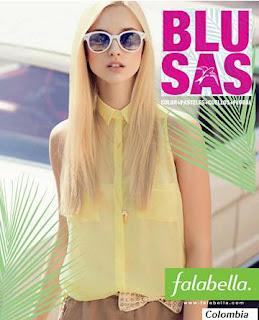 catalogo de blusas falabella 11-2012