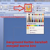 Cara Mengganti Background Microsoft Word