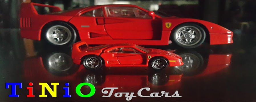 TiNiO Toy Cars