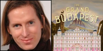The Grand Budapest Hotel written and directed by Wes Anderson, nominated for Best Original Screenplay Academy Award