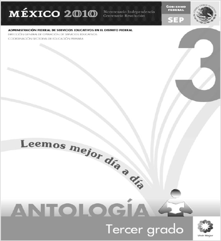 Antología de lecturas para Tercer Grado