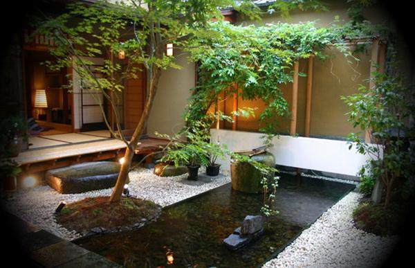 Japanese Minimalist Garden : Indoor Minimalist Garden