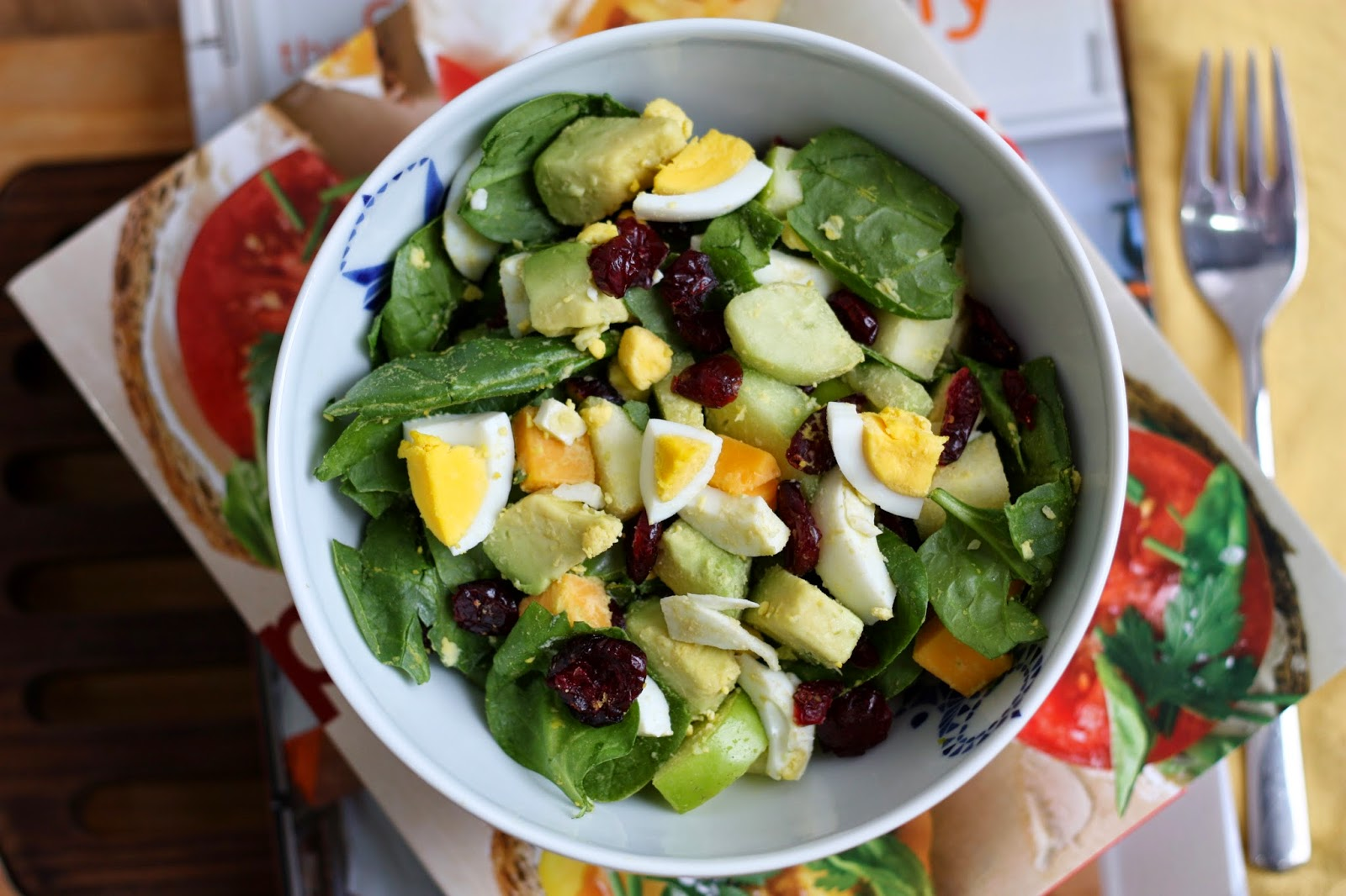 Alex - a salad of a new day