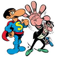 Superlópez y Anacleto, Agente Secreto, se pasan al cine