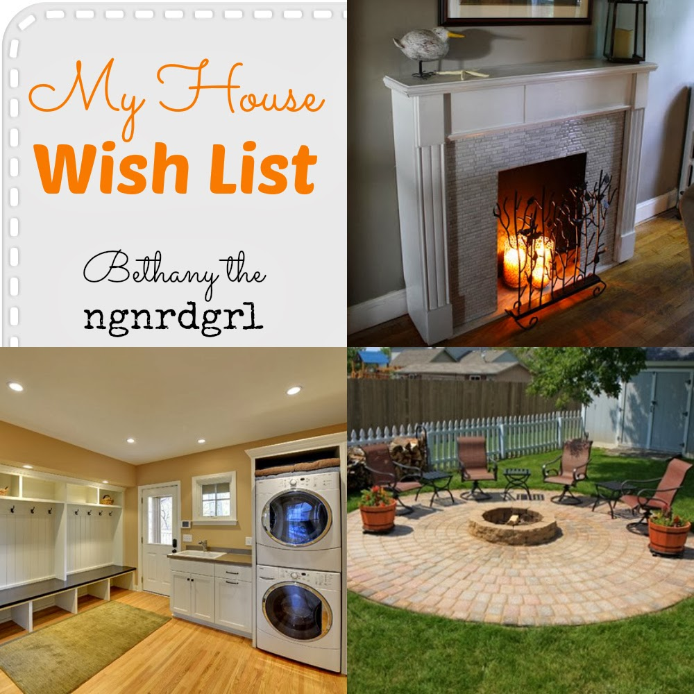 Making my stead my house wish list for Home wish list