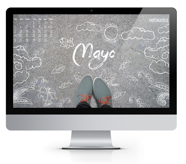 desktop calendario mayo 2014 shootingarts