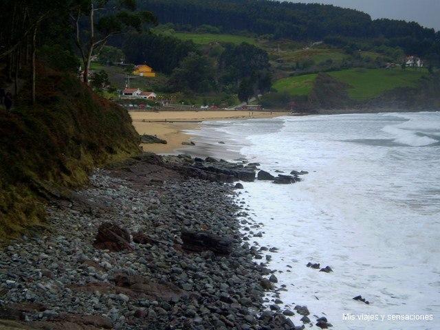 Playa de la Griega, Asturias